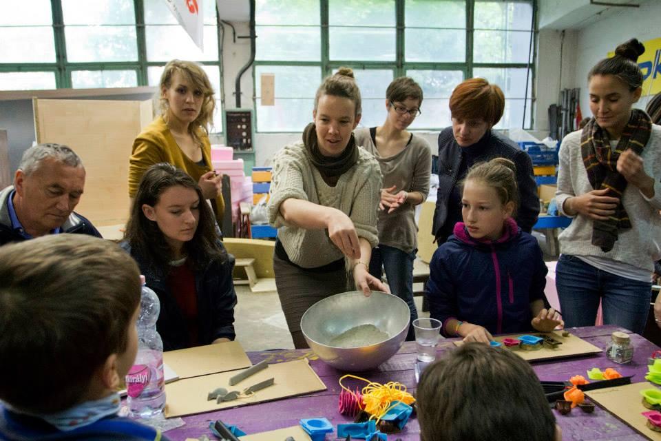 ncrete childrens workshop