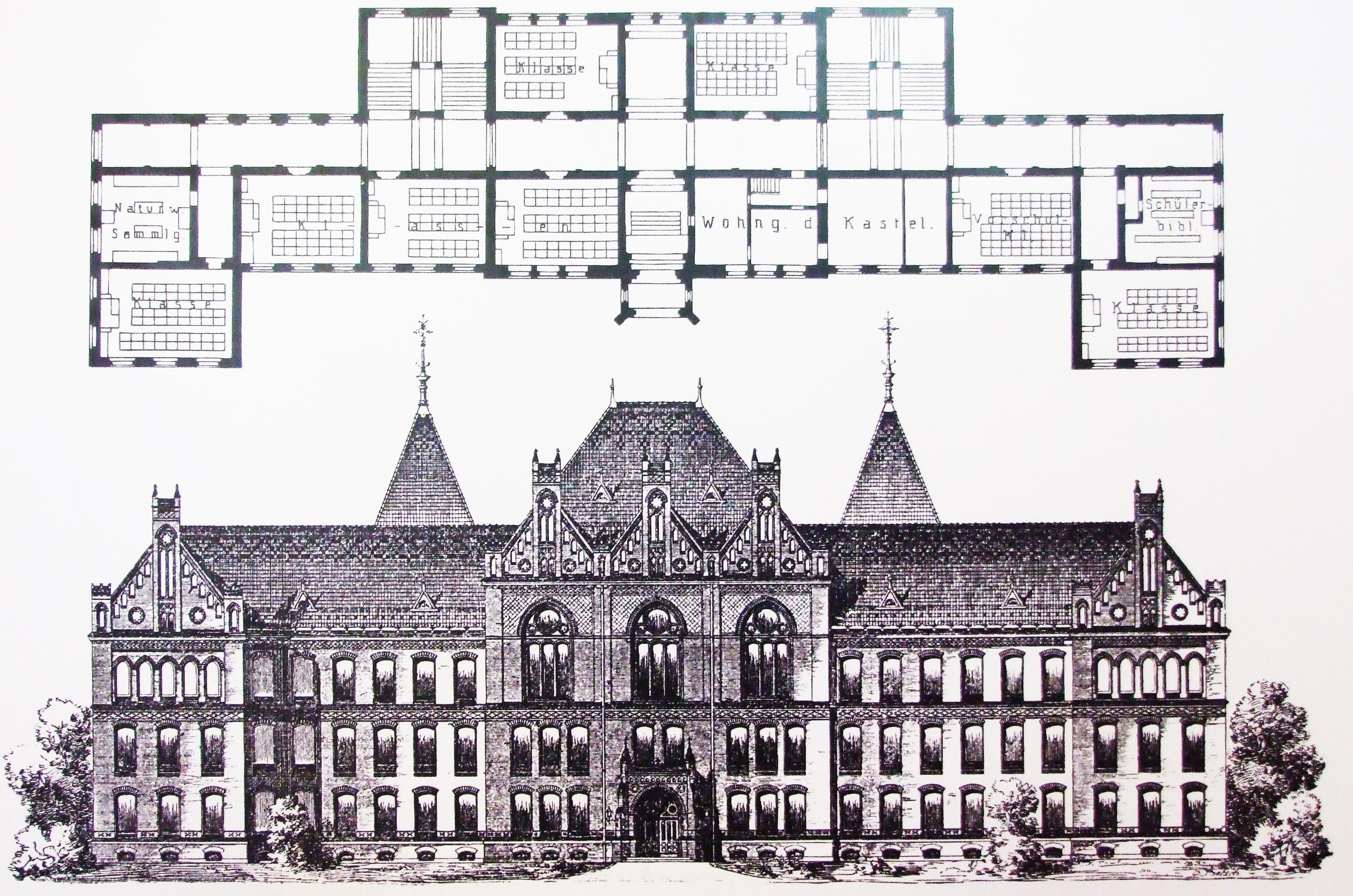 _berlin schöneberg 1893 historizáló szimmetrikus