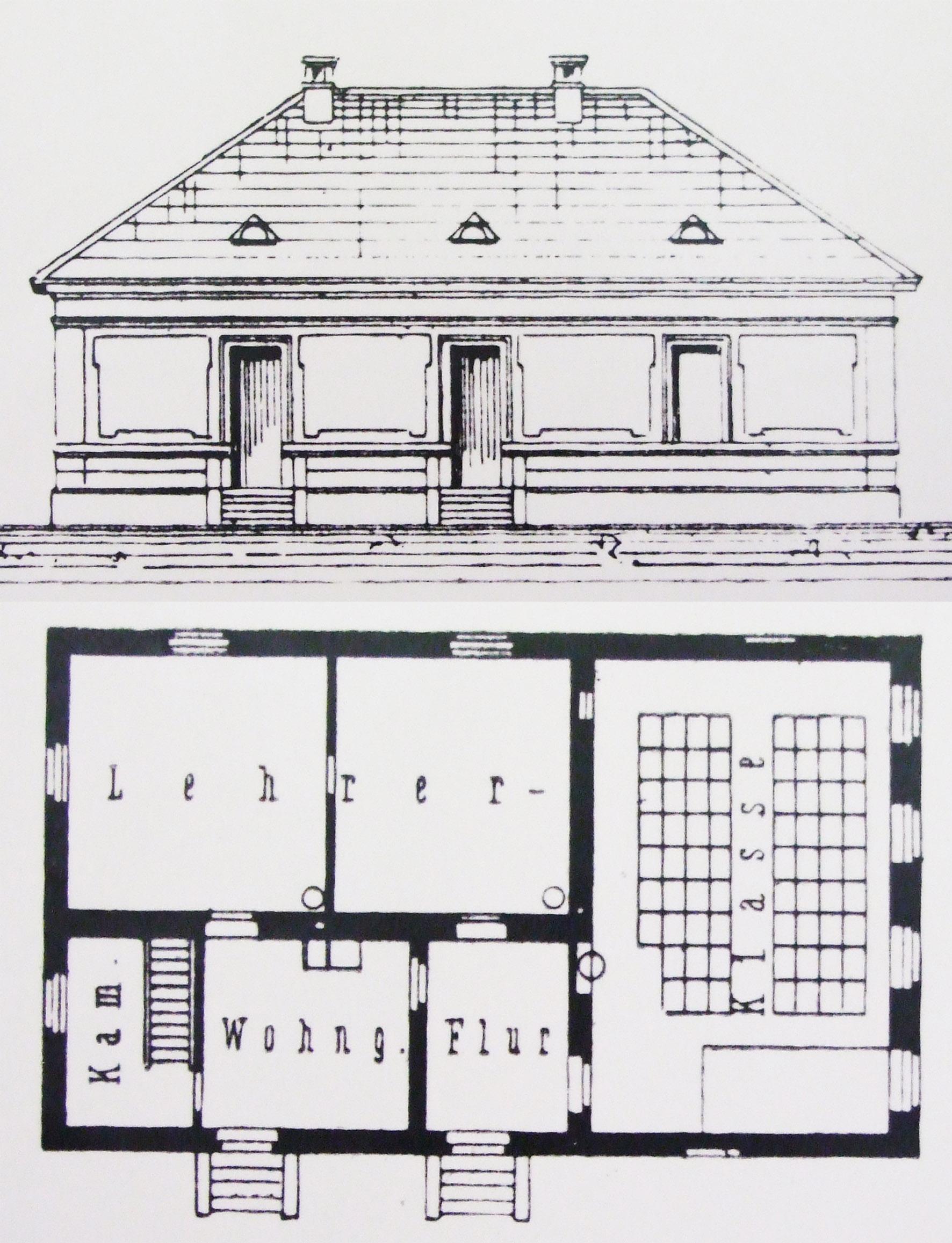 egy termes népiskola német mintatanterv 1884